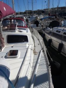 036 Backbord mit Spibaum