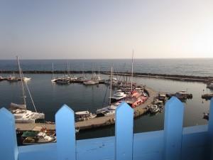 1 Blick auf die Marina Vlychada
