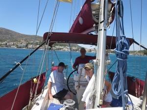 04 Porto Rafti - Gäste an Bord