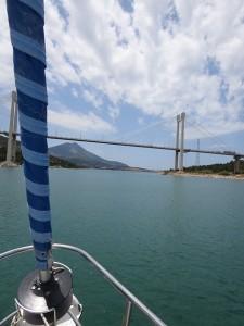 15 Khalkis - neue Brücke
