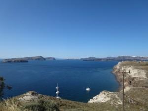 15 Santorin-  und immer das Wasser