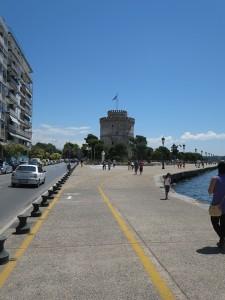 27 der weiße Turm Wahrzeichen von Thessaloniki