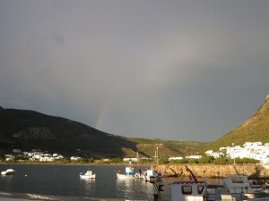 39 Sifnos - Regenbogen