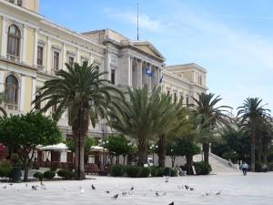 50 politische Zentrale der Kykladen in Syros