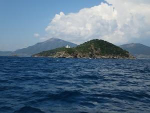 55 Einfahrt in den Golf von Volos