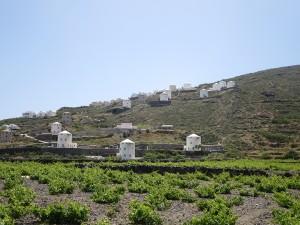 9 Santorin - alte Mühlen als Hotel