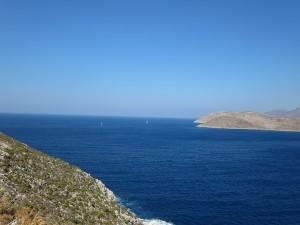 03 Blick  zur Insel Kalavros