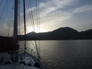 08 Katapola Amorgos Sonnenaufgang