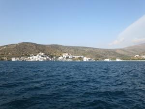 10 Bucht Katapola in Amorgos