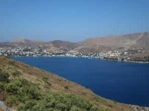28 Leros Blick auf Alintas Bucht