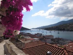 32 Blick ueber die Bucht von Poros