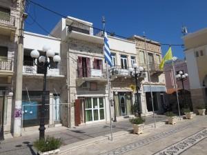34 Kalymnos Häuser an der Promenade