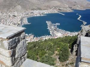 46 Kalymnos Blick vom Kloster