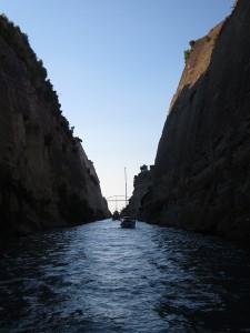 46 Kanal von Konrinth nicht alleine