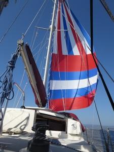 63 stundenlang Genacker segeln