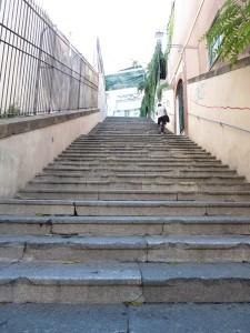 113 Treppen auch in Italien
