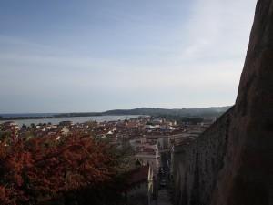 128 Blick über Carloforte und Hafen