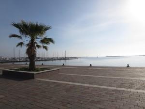 138 Uferpromande im Hintergrund die Marina