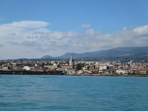 17 Blick auf Reggio Calabria