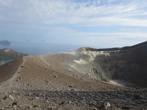 36 am Vulcan Krater