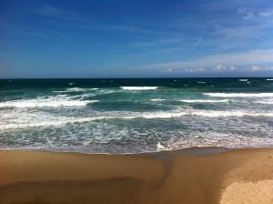 59 weitlaeufiger Strand