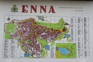 84 Enna Stadtplan