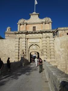 038 das Main Gate Stadttor von Mdina