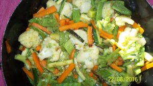 Thai Gemüsepfanne