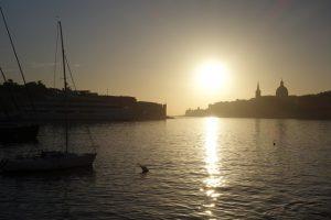 15 Morgenstimmung über Valletta