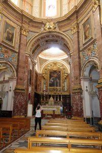 29 Mdina eine der vielen Kirchen...