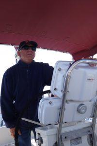 005 Skipper hat alles im Griff