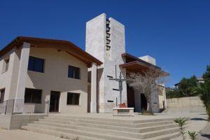 011 moderne Kirche in  Navarrese