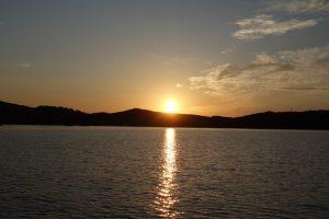 030 Sonnenuntergang ueber Olbia
