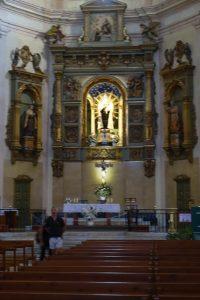 039 prunktvoller Altar der Kirche Carmen