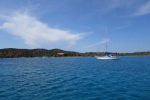 051 Ankerplatz in der Bucht Porto Palma