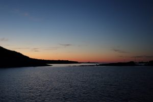 056 Sonnenuntergang bei Es Grau