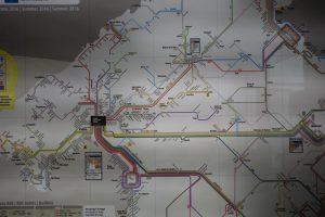103 öffentliches Streckennetz in Palma