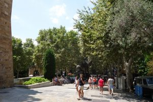 112 Park an der Kathedrale