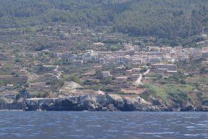 132 Ortschaften an dem Berg geklebt