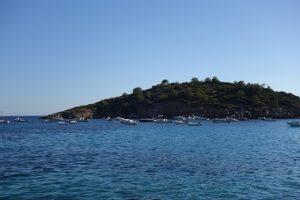 139 hinter einer Insel
