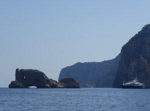 55 Islas Margaritas ein auffällige Felsformation