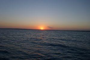 64 und wieder ein Sonnenuntergang