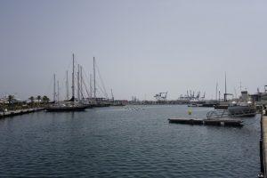 104 Erkundungstour II - am Mega Yacht Hafen vorbei