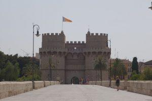145 Die Torres de Serranos - Stadttor