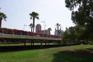168 Flores Brücke von unten