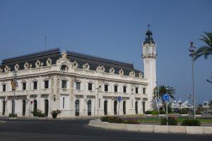 181 Estacion Maritima mit seinem Uhrenturm