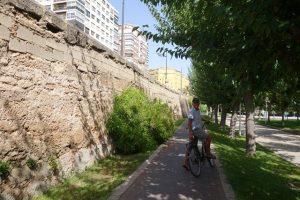 34 Grünanlage im ehemaligen Turia Flußbett