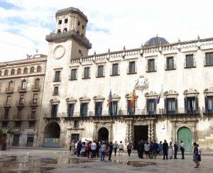 18 Casa consistorial de Alicante