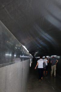 21 Tunnel zum Aufzug auf`s Castell