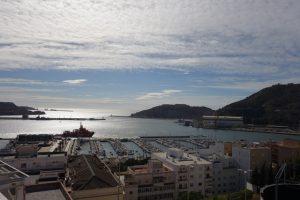 28 Blick zur Hafeneinfahrt